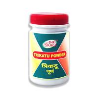 Трикату порошок, Trikatu churna - Улучшает пищеварение, стимулирует перильстарику, убирает чувство тяжести.