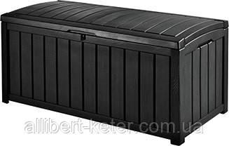 Садова скриня GLENWOOD STORAGE BOX 390L графіт (Keter)