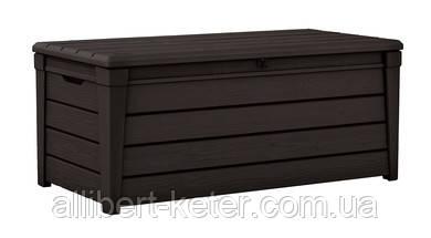 Садова скриня BRIGHTWOOD STORAGE BOX  темно-коричневиа (Keter)
