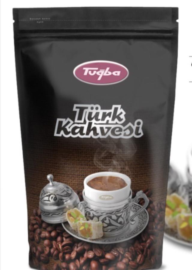 Турецкий кофе в зернах Tugba 500 г