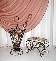 Зонтовница. Кованая подставка под зонты, фото 1