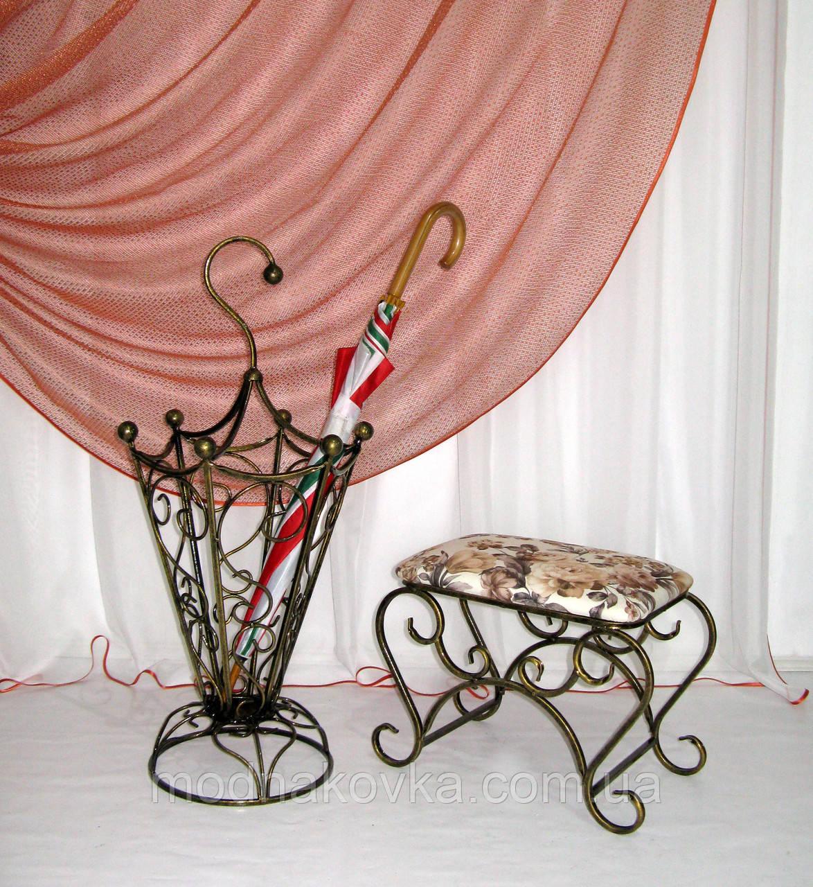 Зонтовница. Кованая подставка под зонты