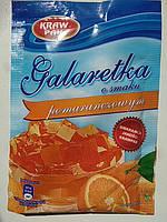 Желе (Galaretka) со вкусом апельсина Kraw Pak Польша 70г