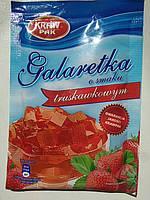 Желе (Galaretka) со вкусом клубники Kraw Pak Польша 70г