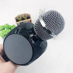 Беспроводной bluetooth микрофон караоке WSTER WS-1816 Black
