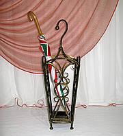 Зонтовница 2А. Кованая подставка под зонты, фото 1