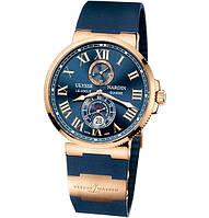 Мужские кварцевые часы Ulysse Nardin Marine (Улисс Нардин)
