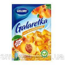 Желе (Galaretka) со вкусом персика Gellwe Польша 75г
