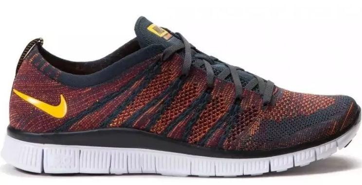 "Кроссовки Nike Free Flyknit NSW ""Anthracite/Laser Orange"" Арт. 0823 -  Интернет-магазин ""Мамасон"" в Одессе"