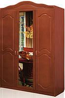 Шкаф Анна 3-дверный фасад МДФ,с зеркалом
