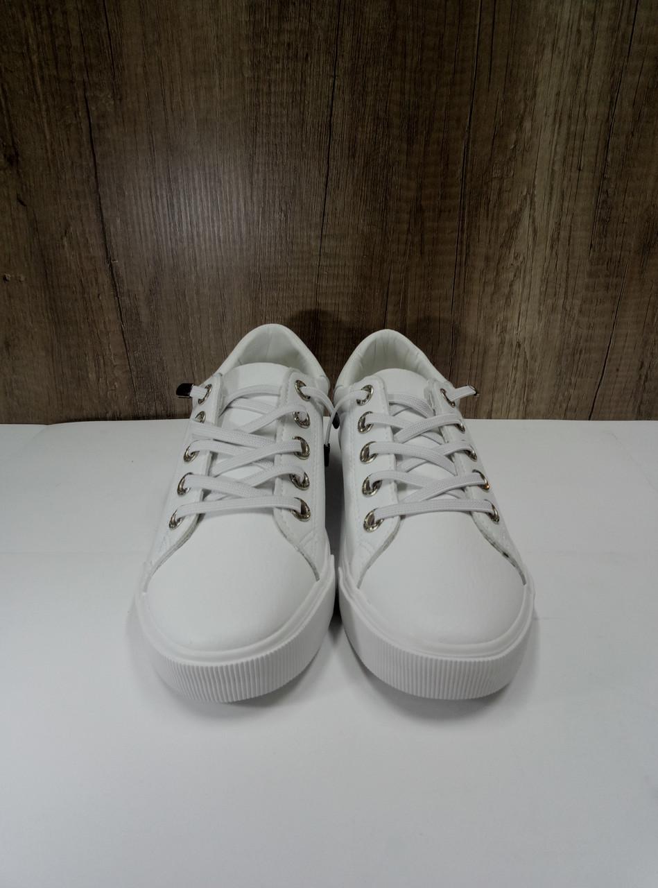 Стильные женские кеды белого цвета PRIMA D YD065