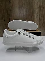 Стильные женские кеды белого цвета PRIMA D YD065, фото 3