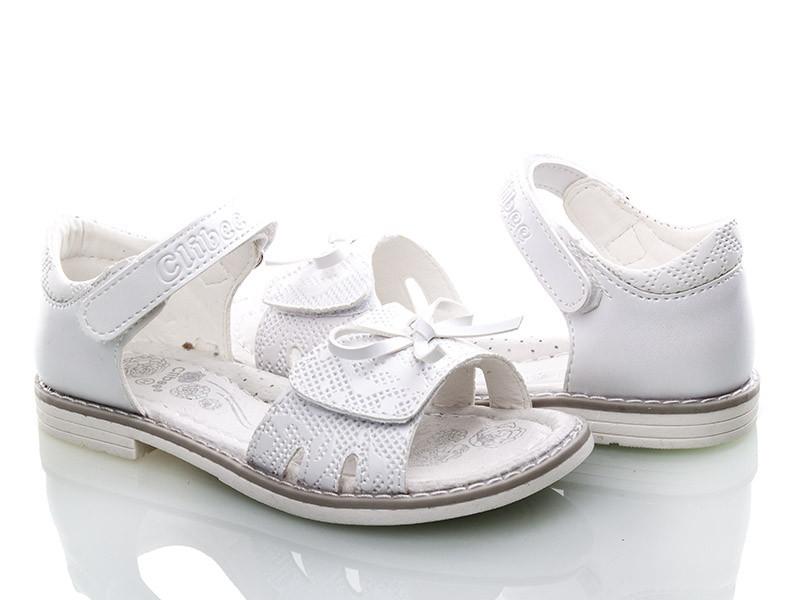 bf906dd71 Подростковые белые нарядные босоножки для девочек Clibee - apawwa (размеры  31-36)