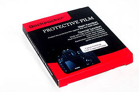 Защита LCD экрана Backpacker для Fujifilm XF1, Q1, Q2 - закаленное стекло