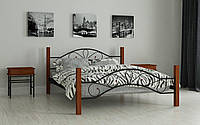 Металлическая кровать Фелисити 80х190 см. Мадера