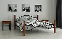 Металлическая кровать Фелисити 80х190 см. Мадера, фото 1