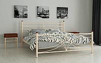 Металлическая кровать Тиффани 80х190 см. Мадера, фото 1