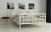 Металлическая кровать Дейзи 80х190 см. Мадера, фото 1