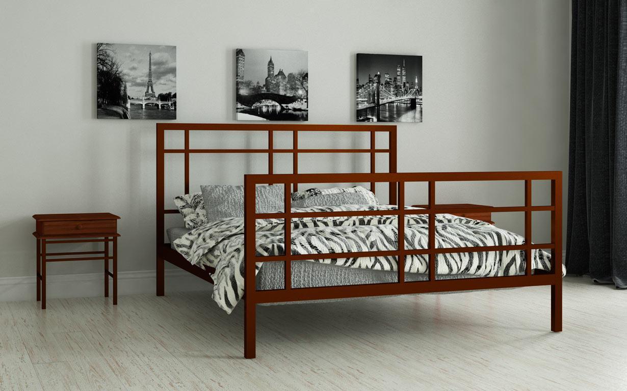 Металлическая кровать Дейзи 120х190 см. Мадера