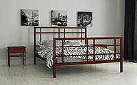 Металлическая кровать Дейзи 120х190 см. Мадера, фото 1