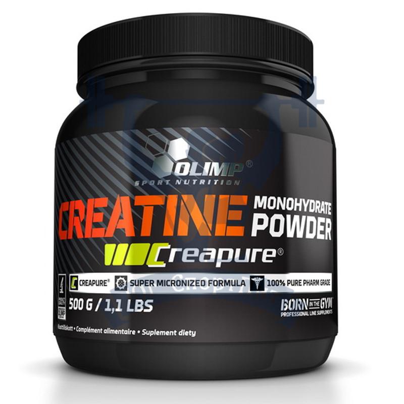 Olimp Creatine Monohydrate Powder Creapure креатин моногидрат увеличение мышечной массы набор веса