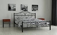 Металлическая кровать Элиз 180х190 см. Мадера