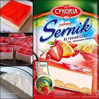 Творожный пирог без выпекания Sernik (Сырник) Cykoria Польша 190г