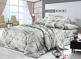 Семейный комплект постельного белья сатин (8166) TM KRISPOL Украина