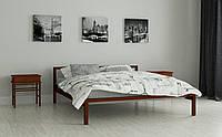 Металлическая кровать Вента 80х190 см. Мадера, фото 1