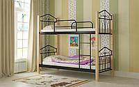 Двухъярусная кровать Эмма 80х190 см. Мадера