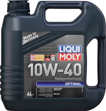 Напівсинтетичні моторні оливи 10W40
