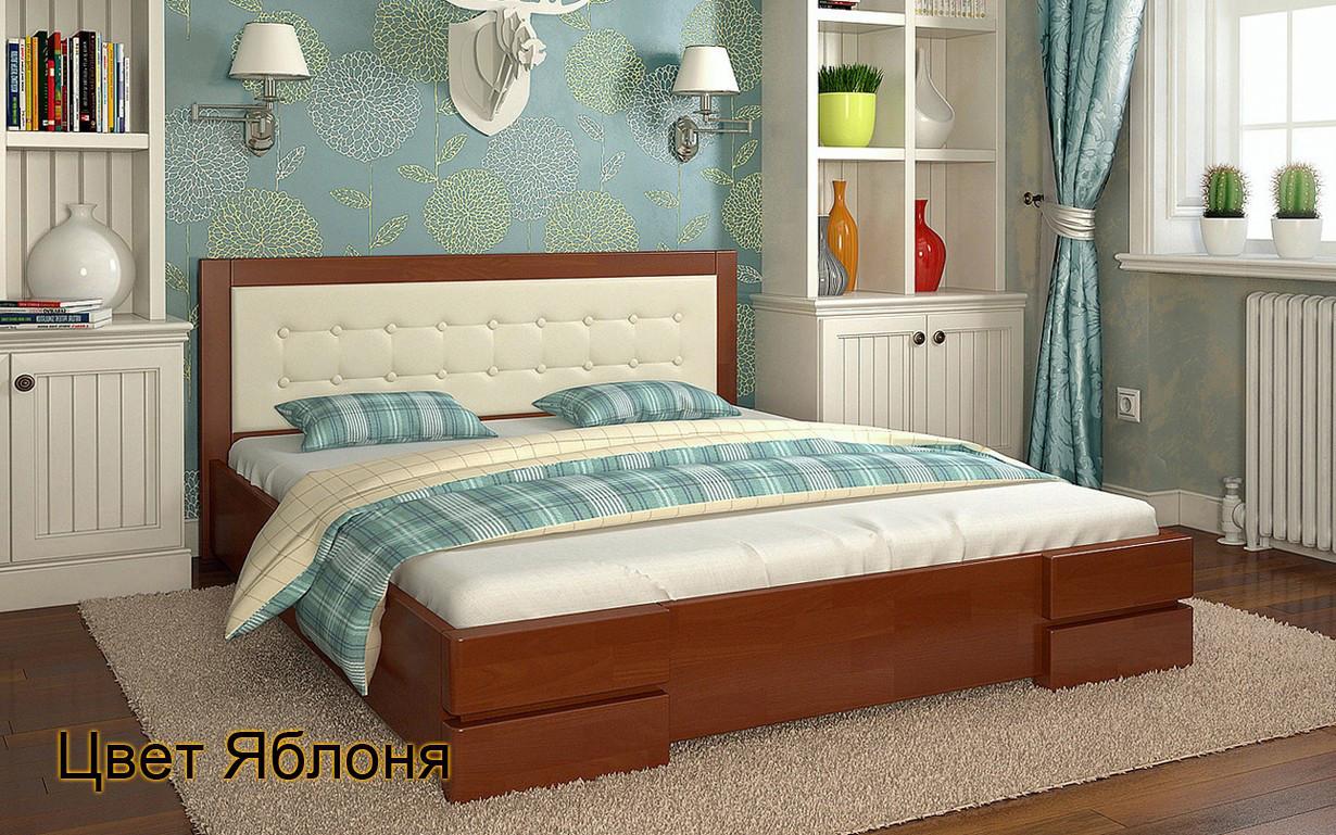 Деревянная кровать Регина 120х190 см. Arbor Drev