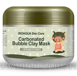 Кислородная маска Bioaqua Skin Care Carbonated Bubble Clay Mask (карбовоная маска) 100 g