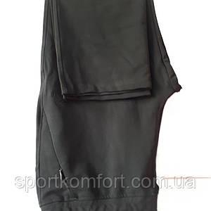 Жіночі спортивні трикотажні штани Соккер, чорні, розмір 46, 50, 52.