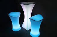 LED барный стул