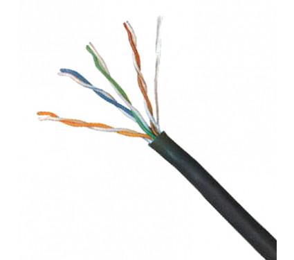 Кабель сетевой ДКЗ UTP CCA 4x2x0,5 РЕ внешний