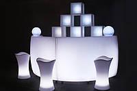 Закругленная барная стойка LED