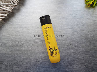 Шампунь для сияния светлых волос Matrix Total Results Hello Blondie Shampoo 300 мл