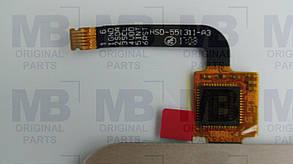 Сенсор (тачскрин) Nomi i5510 Spase M, золотой, оригинал!, фото 2