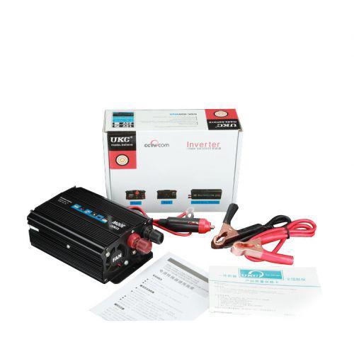 Преобразователь напряжения инвертор 12-220V UKC AC/DC 300W SSK инвертор в коробке