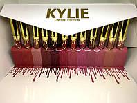 Жидкая помада Kylie Birthday Limited Ed. - набор 12в1