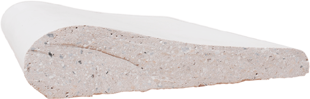 Копинговый камень срез