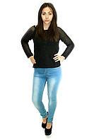 Женские джинсы, цвет: светло-голубой
