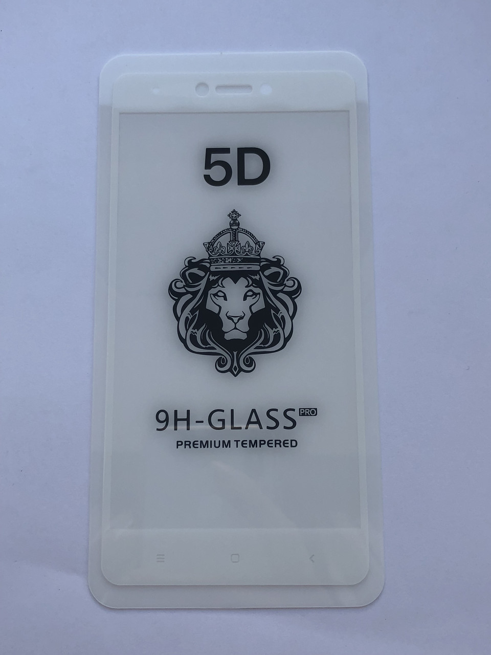 Защитное стекло 5D для Xiaomi Redmi 4x (White)