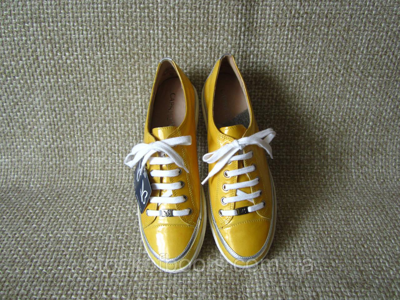 Кеди кросівки шкіряні оригінал Caprice розмір 40  продажа 5a61614b21653