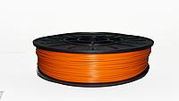 PLA пластик для 3D печати, 2.85 мм, 0.75 кг оранжевый