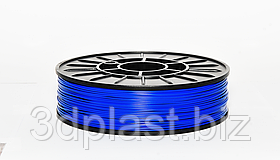 PLA пластик 3Dplast для 3D принтера 2.85 мм синий
