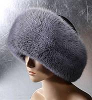 Женская меховая шапка Москвичка