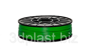 PLA пластик для 3D печати, 2.85 мм, 0.75 кг 0.75 кг, зеленый