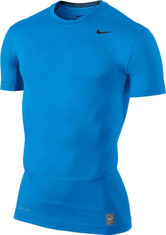 Термобелье Nike CORE COMPRESSION SS TOP 449792-433, фото 2